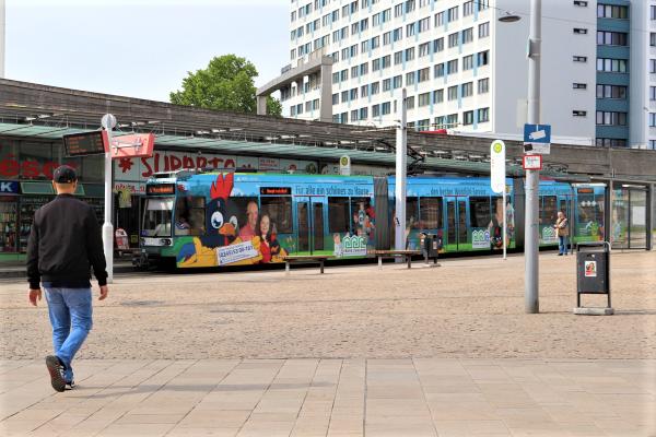 Maßnahmen für die Verkehrswende in Halle