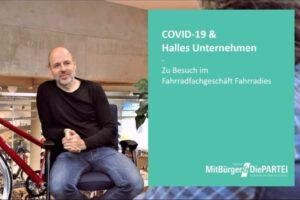 COVID-19 & Halles Unternehmen – Zu Besuch im Fahrradfachgeschäft Fahrradies
