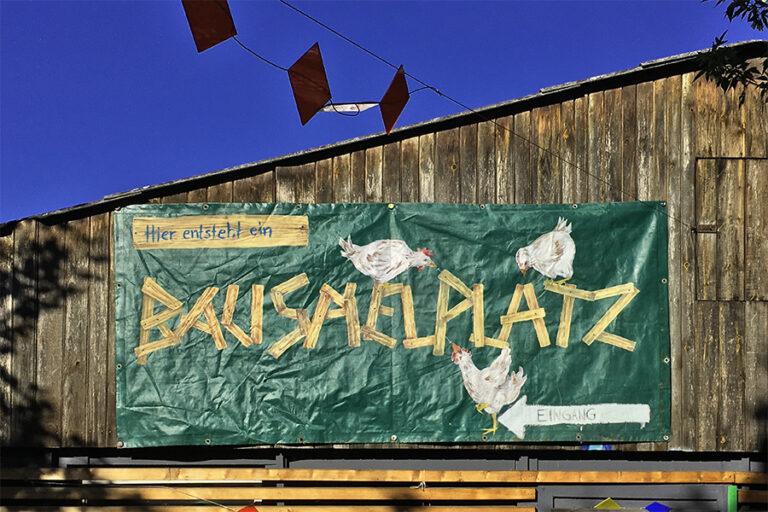 Read more about the article Mehr Bauspielplätze braucht die Stadt