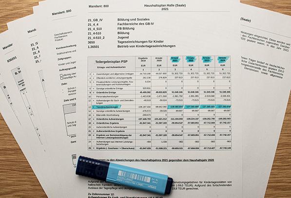Haushalt 2021 der Stadt Halle (Saale) – Teil 7 – Der Haushaltsbeschluss