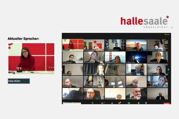 Unser Statement zum Verlauf der ersten virtuellen Sitzung des Stadtrates Halle (Saale)