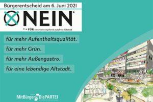 Read more about the article Faktencheck: weitestgehend autofreie Altstadt